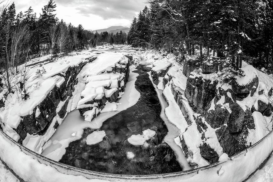 Fisheye View, Rocky Gorge NH by Michael Hubley
