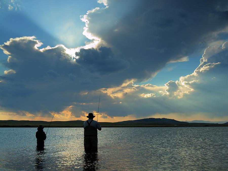 Fishing Photograph by Arina Habich