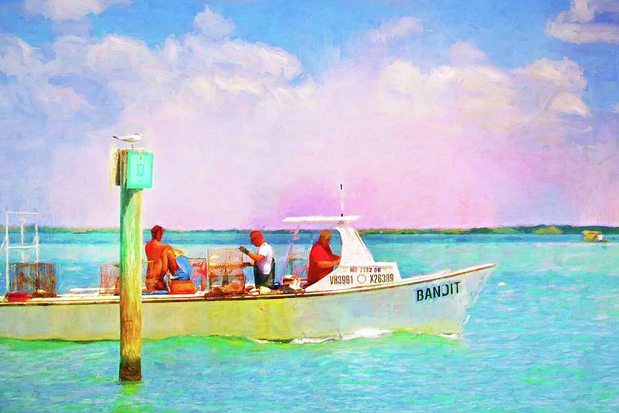 Fishing Bandit by Alice Gipson