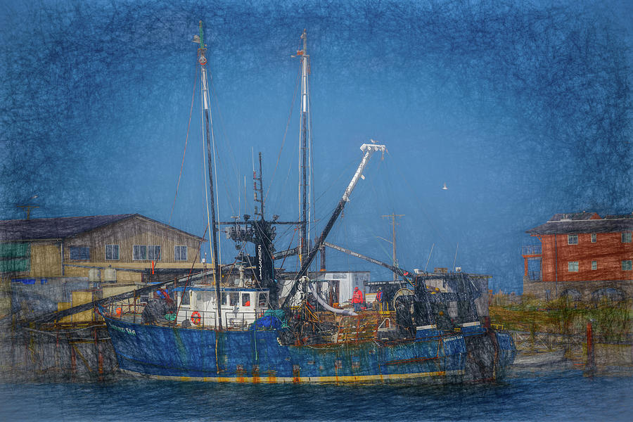 Fishing Boat 14 by Mike Penney