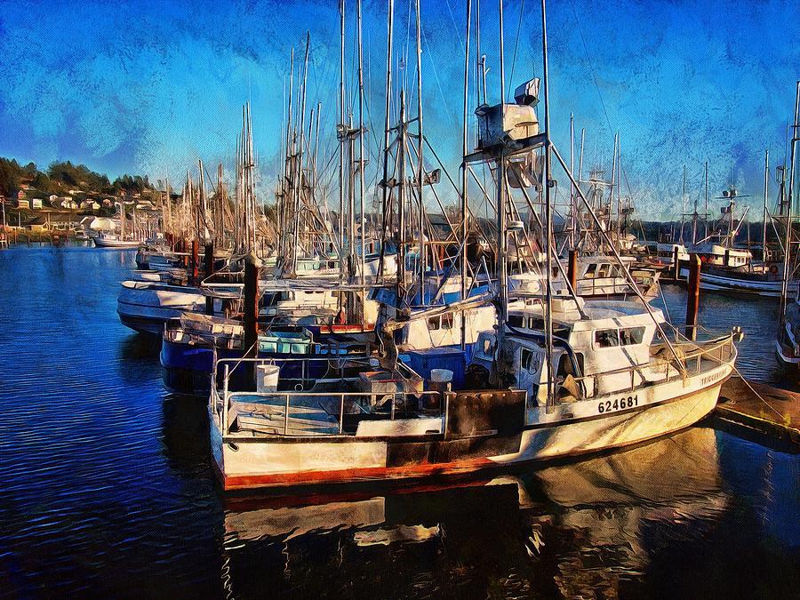 Fishing Boat Dreams by Thom Zehrfeld