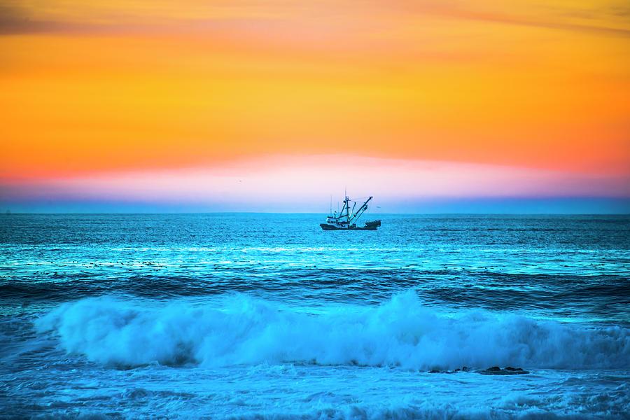 Boat Photograph - Fishing Boat by Fernando Margolles