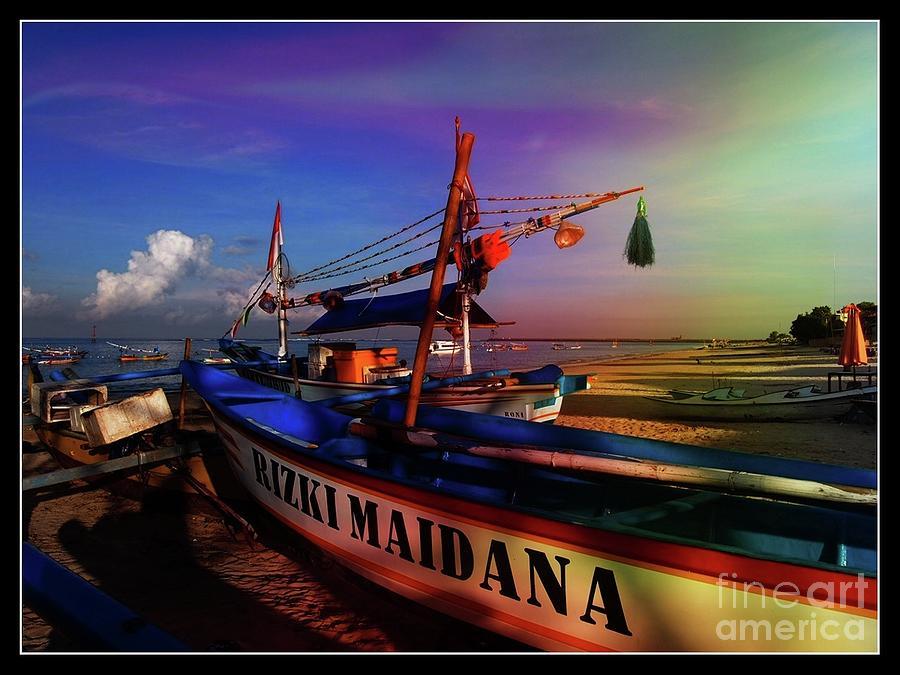 Fishing Boat by Ronald Rockman