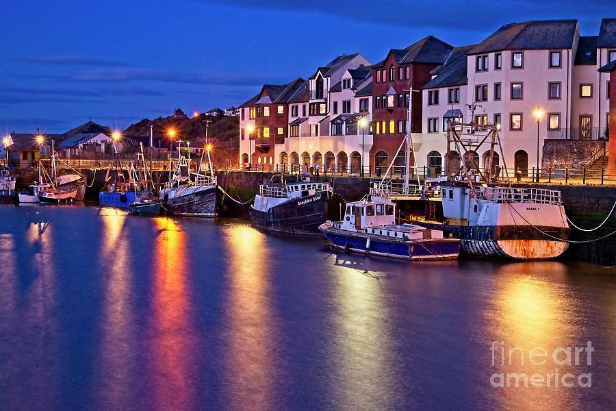 Fishing Boats in Maryport Harbour, Cumbria by Martyn Arnold