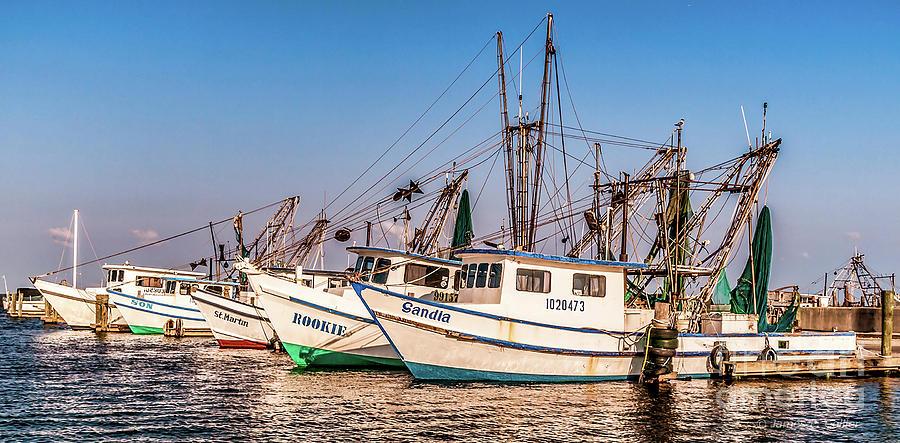 Fishing Fleet by Jim Collier