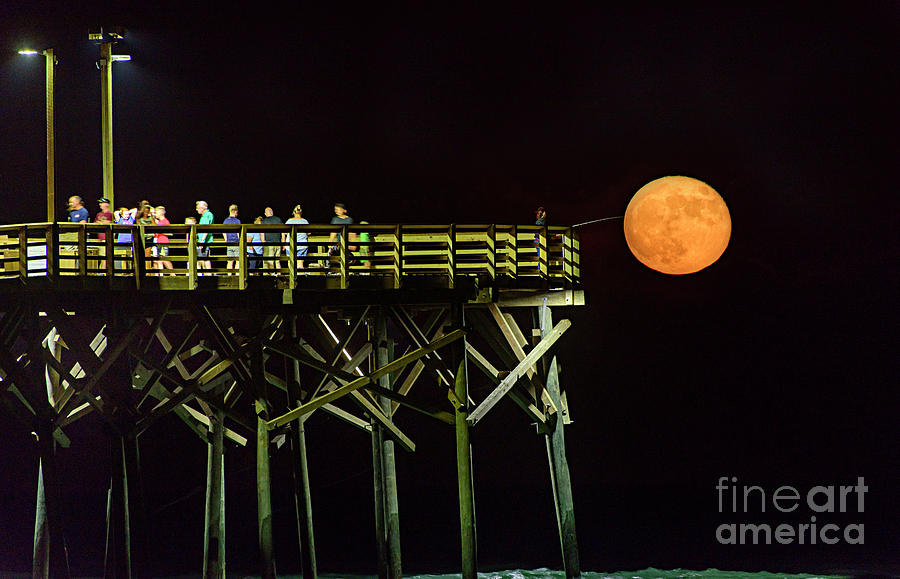 Fishing for the Moon by DJA Images