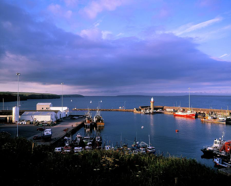 Fishing Harbour In Dunmore East, County Photograph by Designpics
