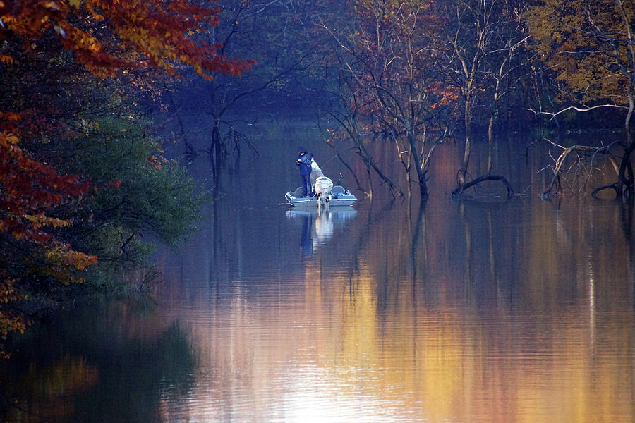 Fishing in the Fall by Mike Murdock