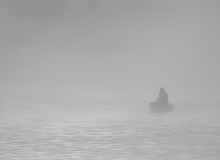 Fishing in the Fog by Bill Chambers