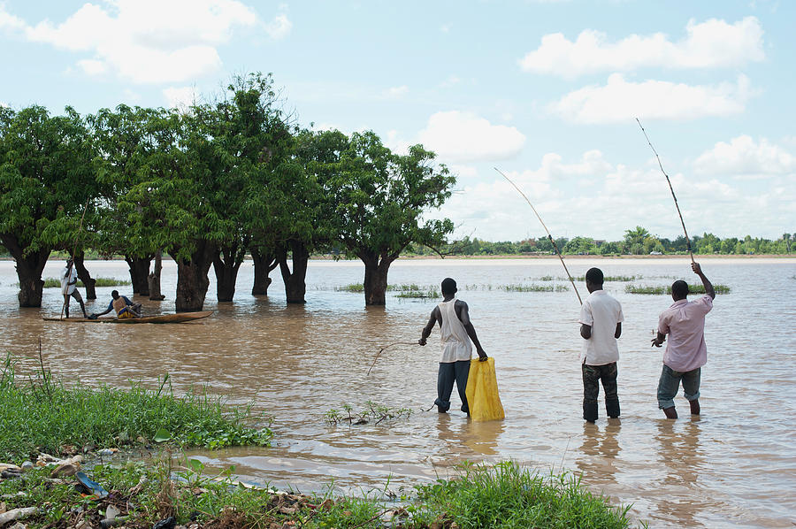 Fishing, Ouagadougou, Burkina Photograph by Uygargeographic
