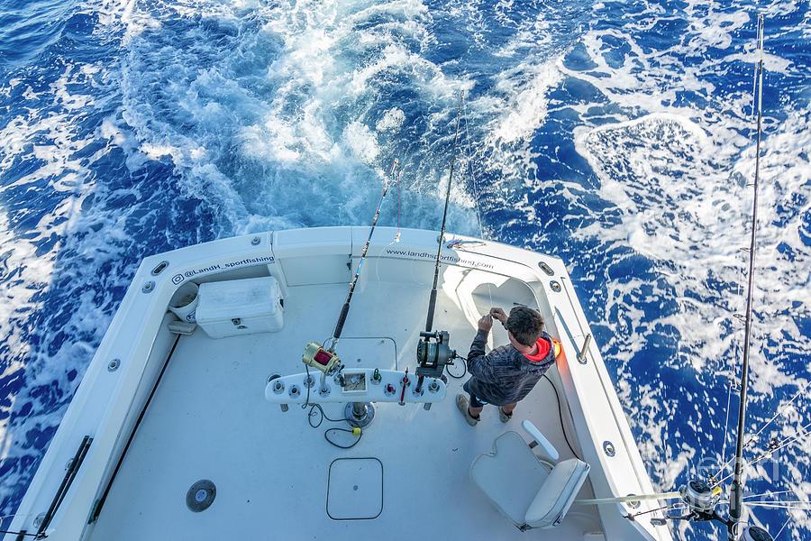 Fishing Preparations Photograph