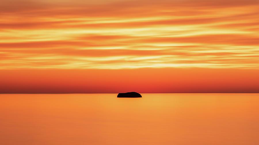 Fishing Rock by Samantha Kennedy