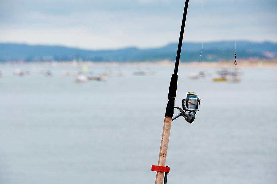 Fishing Rod Photograph by Sebastian Condrea