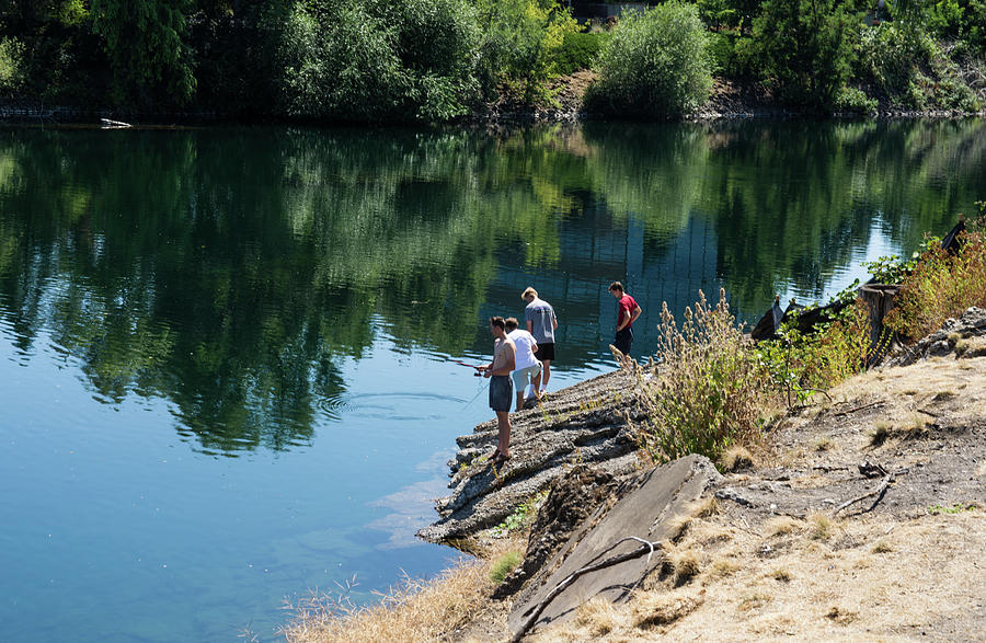 Fishing the Spokane River by Tom Cochran