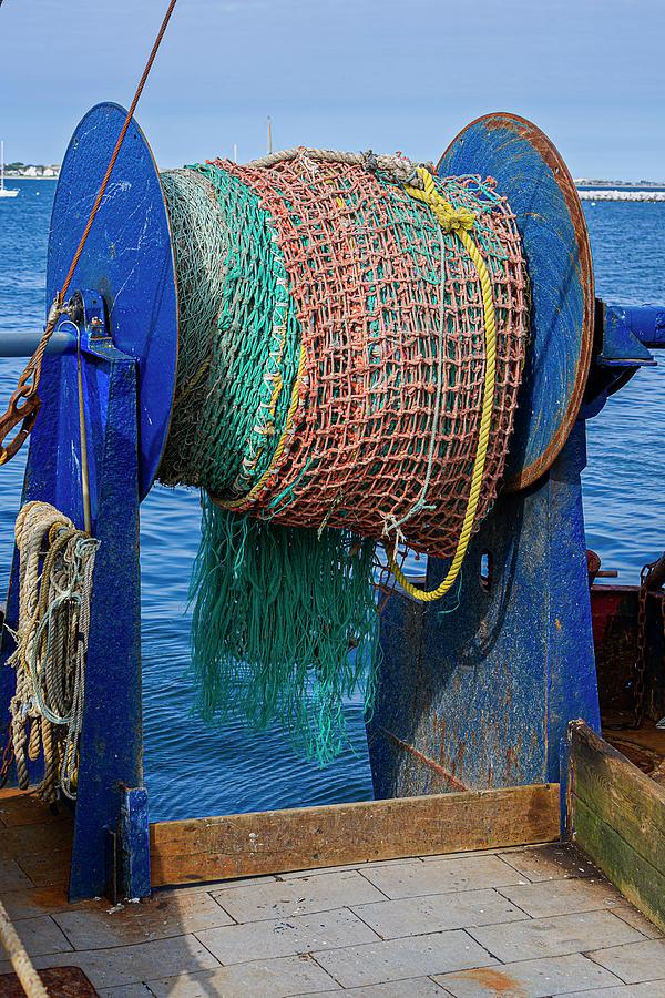 Fishing Troller Nets by Susan Candelario