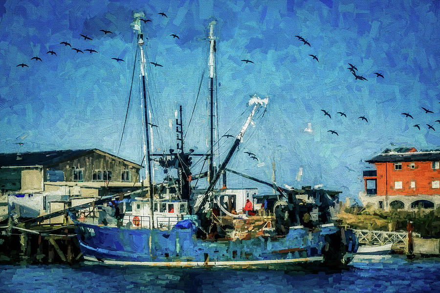 Fishing Vessel 32 by Mike Penney