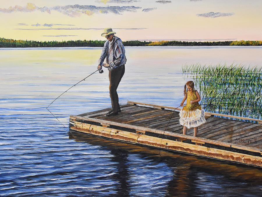 Fishing With A Ballerina by Marilyn McNish
