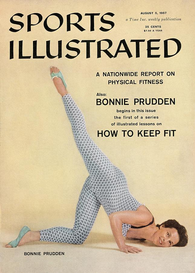 Fitness Expert Bonnie Prudden Sports Illustrated Cover Photograph by Sports Illustrated