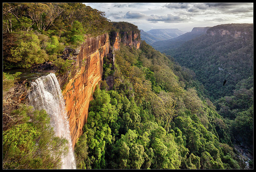 Scenic Photograph - Fitzroy Falls Southern Highlands Nsw by Australian Land, City, People Scape Photographer