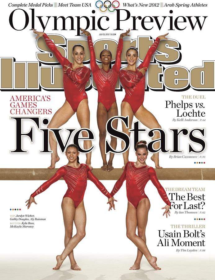 Five Stars 2012 London Olympic Games Preview Sports Illustrated Cover Photograph by Sports Illustrated