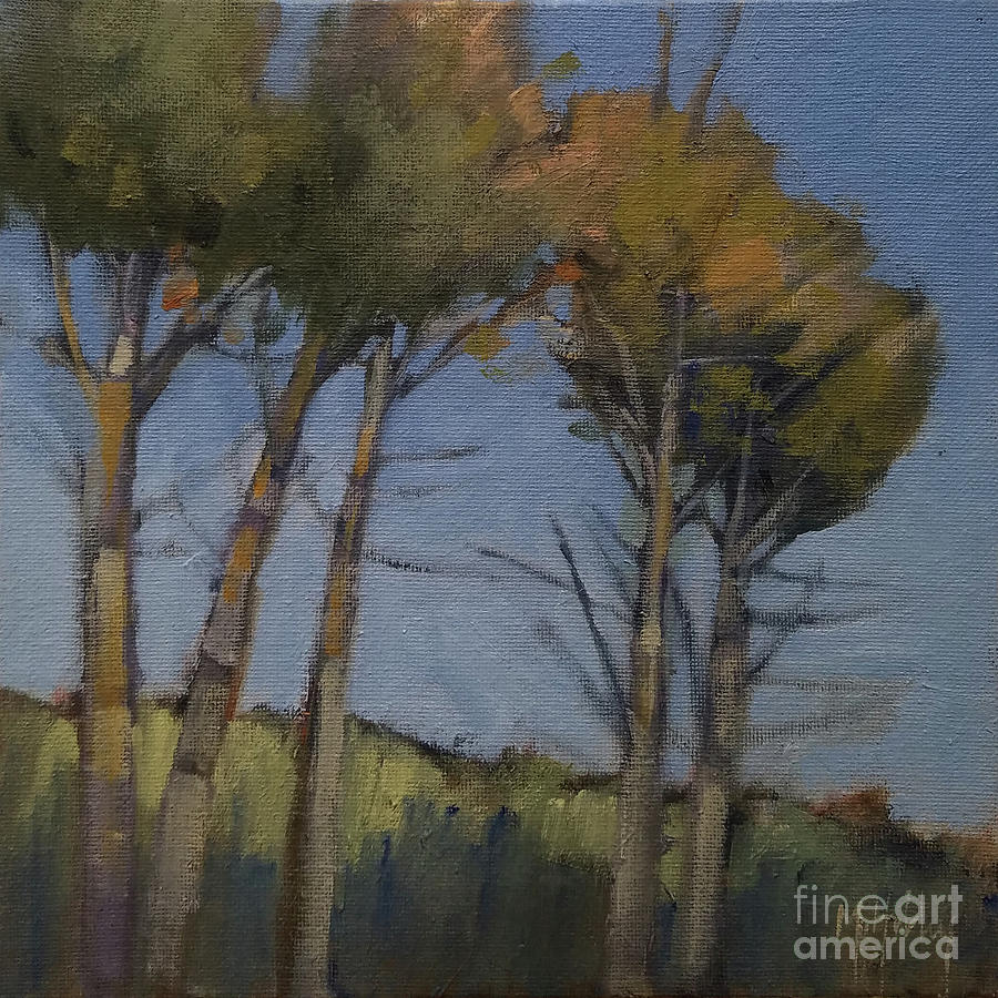 Five Trees by Mary Hubley
