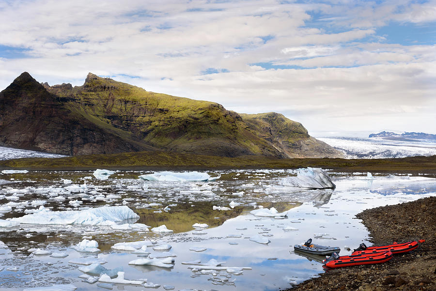 Fjallsarlon glacier lagoon #2 by RicardMN Photography
