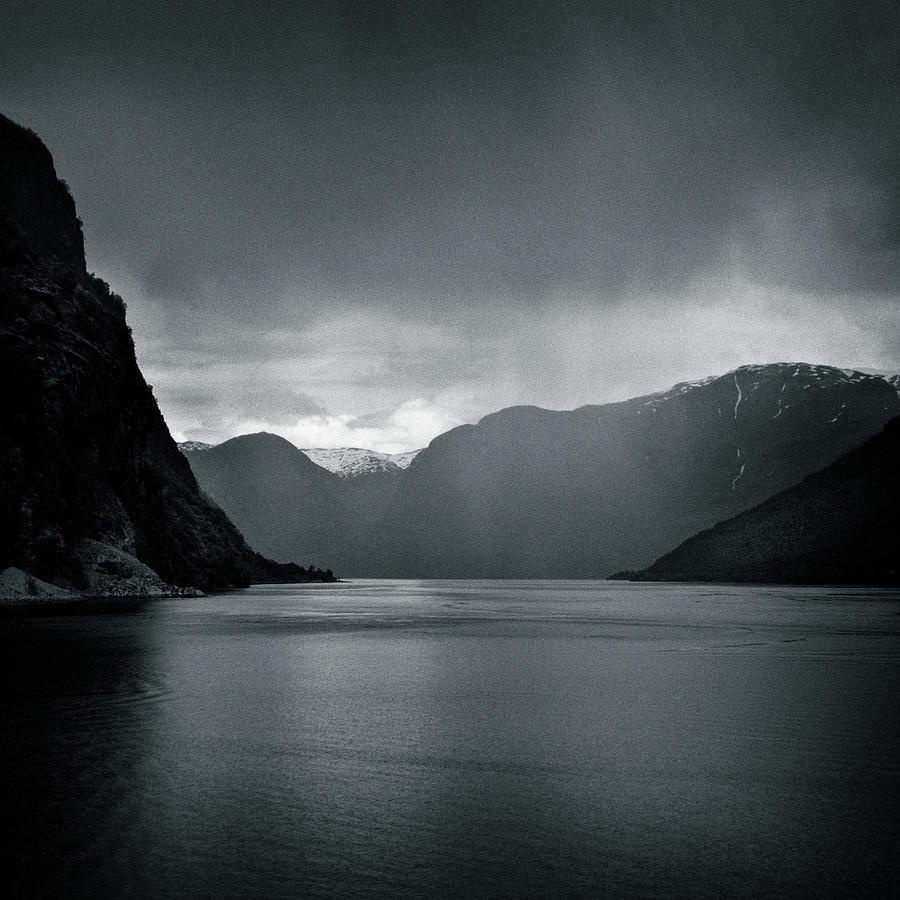 Fjord Rain Photograph