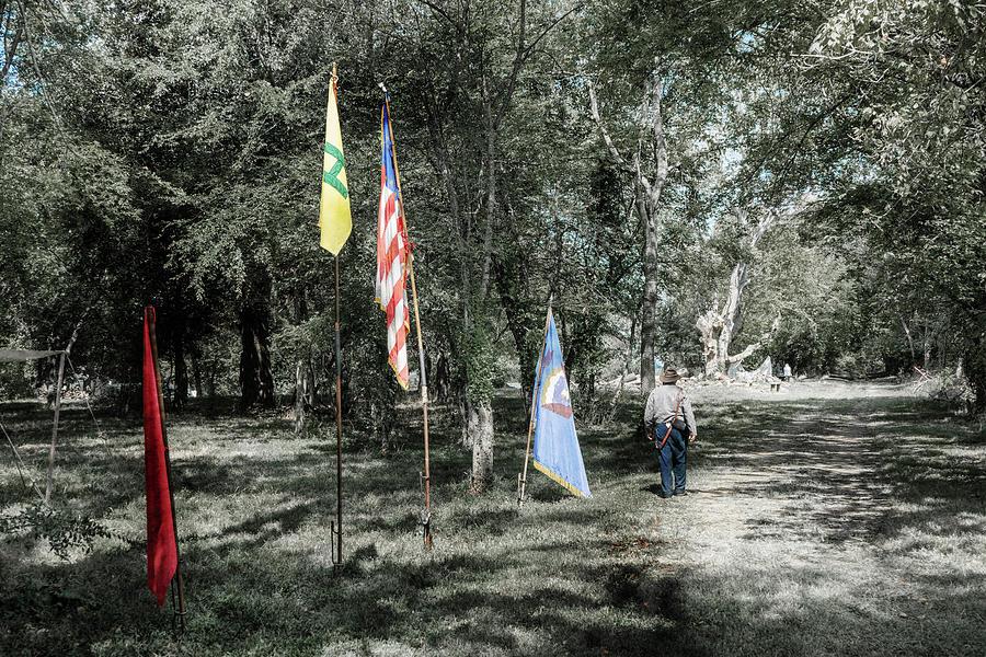 Flag Path by Sharon Popek