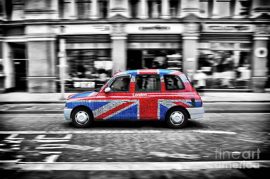 Flag Photograph - Flag_cab by Alessandro Giorgi Art Photography