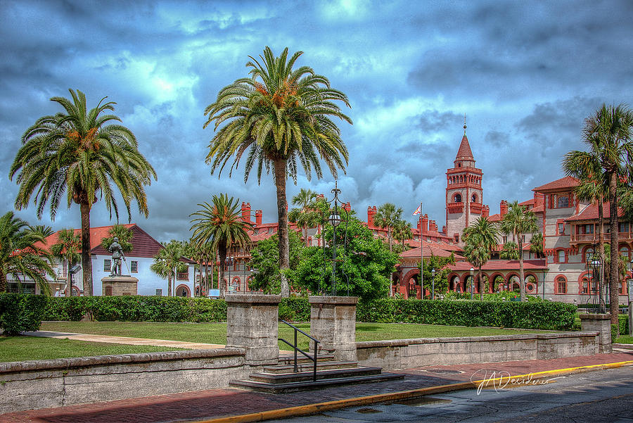 Flagler College Storm by Joseph Desiderio