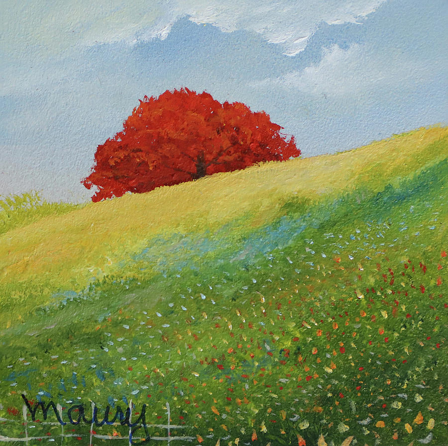 Flamboyant UP to The Hill by Alicia Maury
