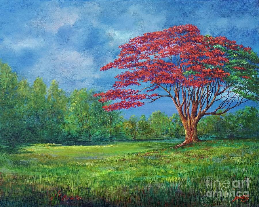 Flame Tree by AnnaJo Vahle
