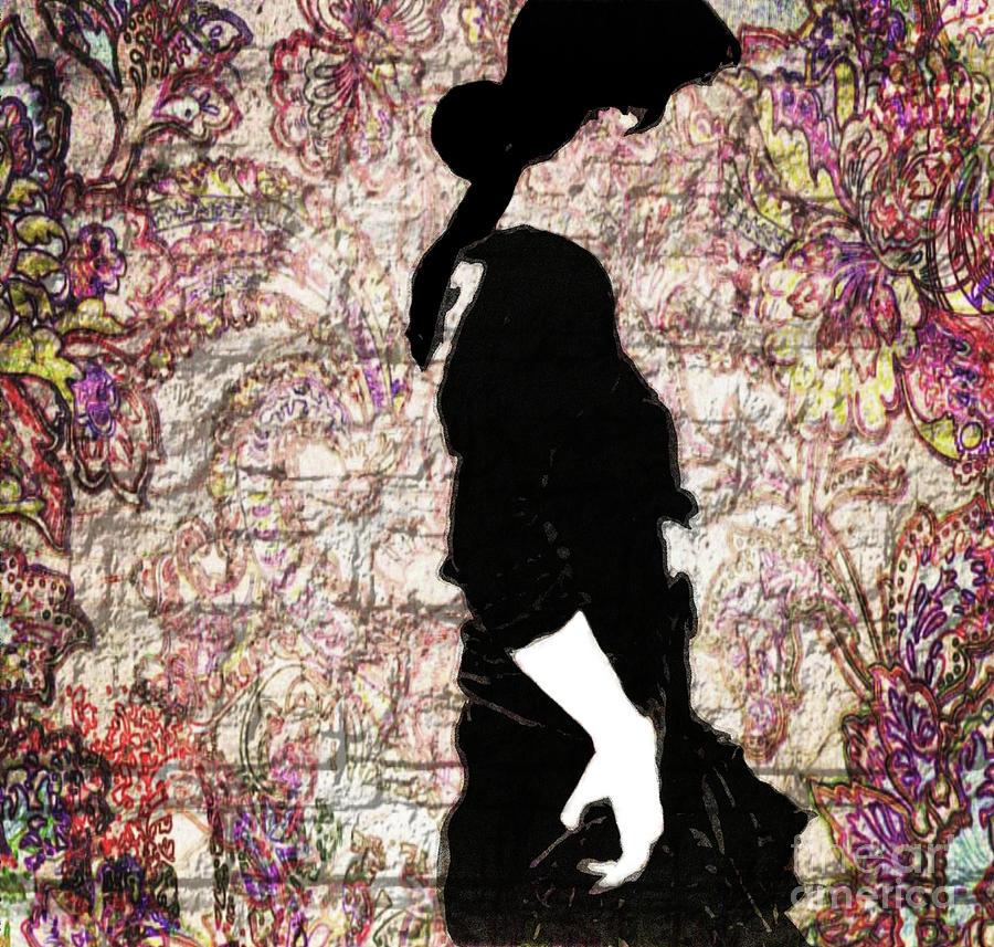 Dancer Photograph - Graffiti In Street Flamenco  by Steven Digman