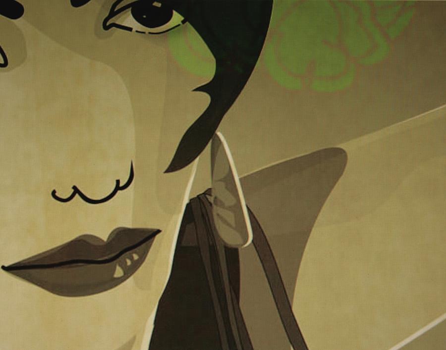 Flamenco Lady Digital Art by Susanne Riber Christensen