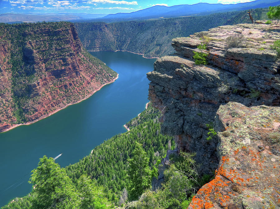 Flaming Gorge Photograph by Photo By Bill Birtwhistle