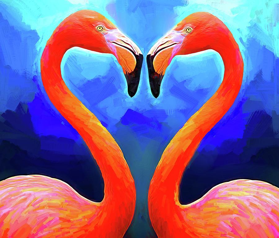 Flamingo Heart by Alice Gipson