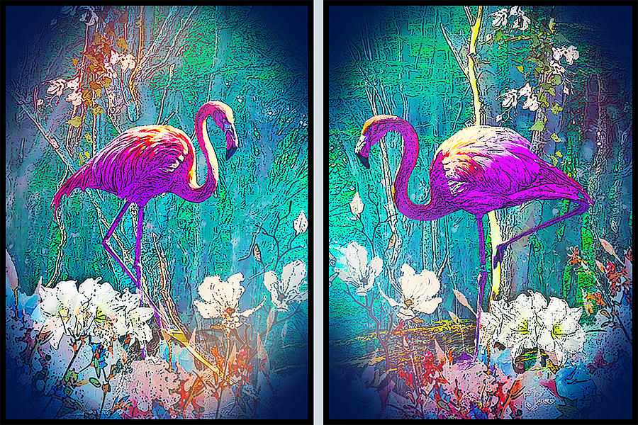 Flamingo pink  by MARIA ROM