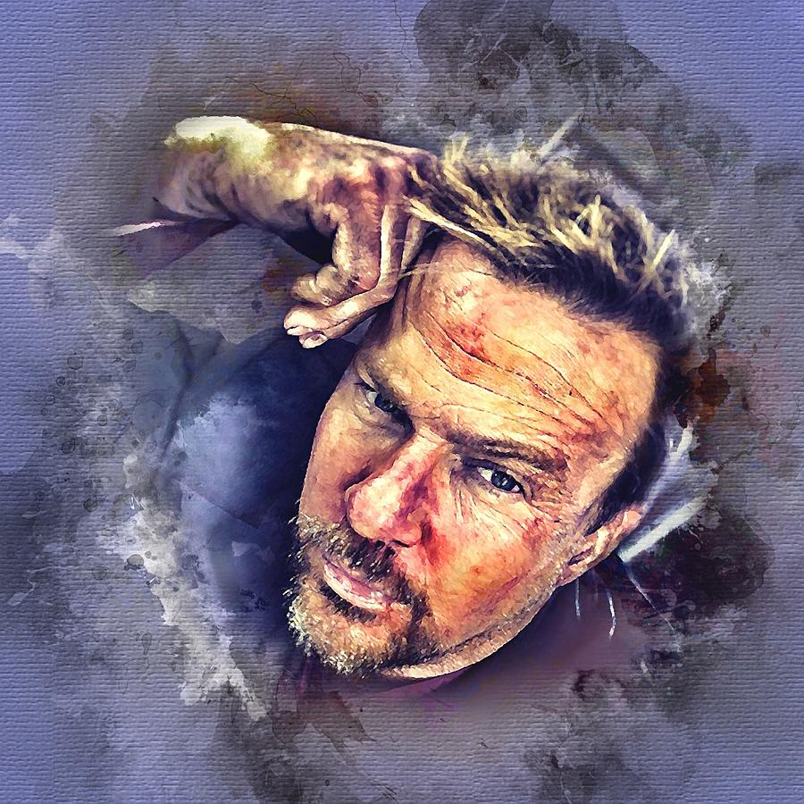 Flanery Watercolor by Flanery Art Designs