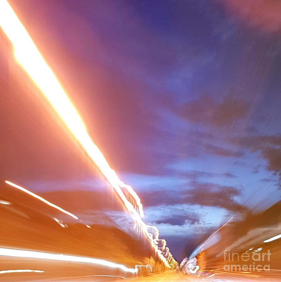 Freemind Photograph - Flash In The Night by Paola Baroni