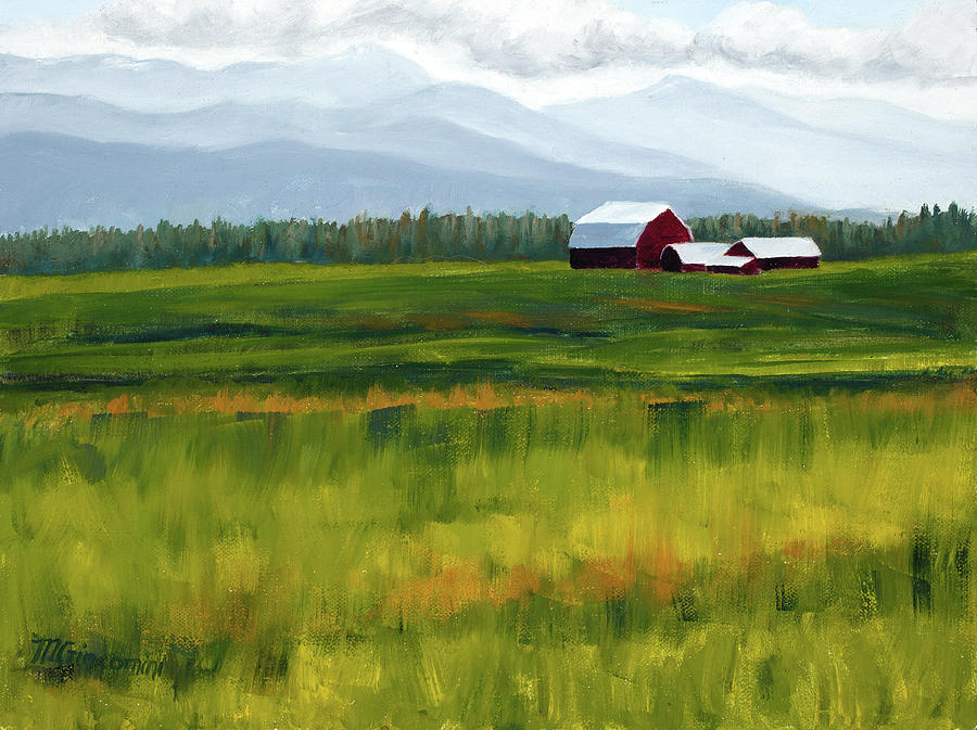 Flathead Valley by Mary Giacomini