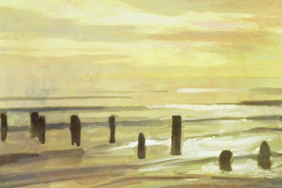 Flaxen Sea by Norma Slack