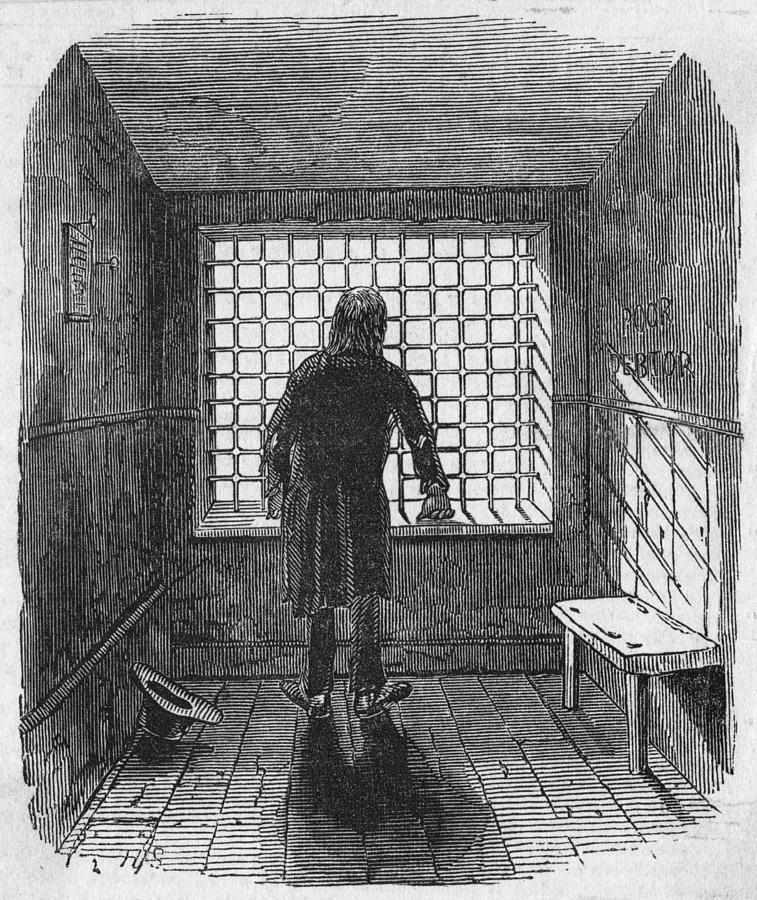 Fleet Prison Photograph by Hulton Archive