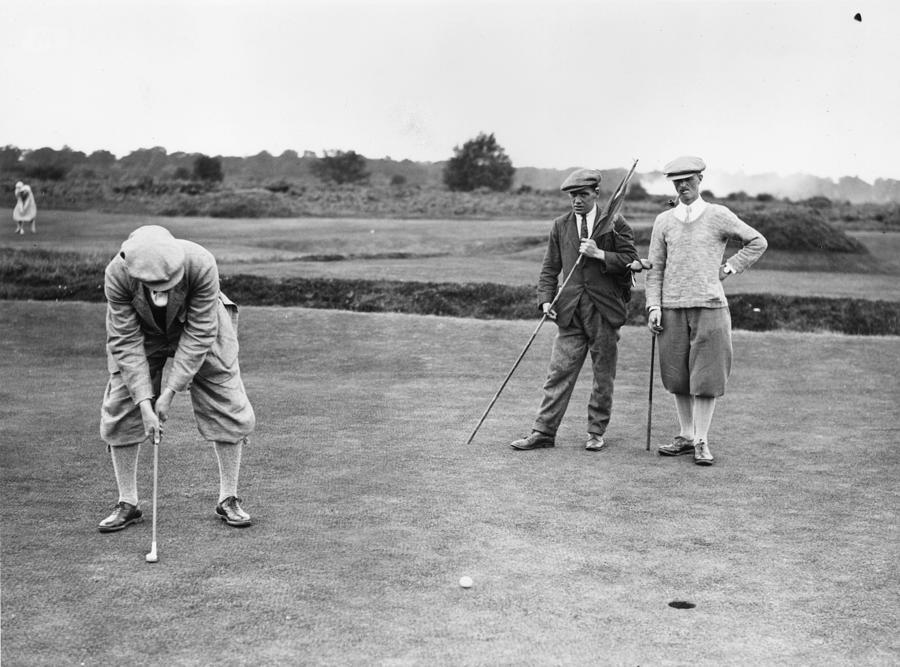 Fleetway Golfers Photograph by Davis