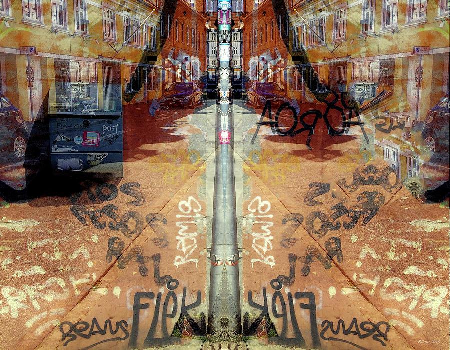 Abstract Digital Art - FLeK by Ole Klintebaek