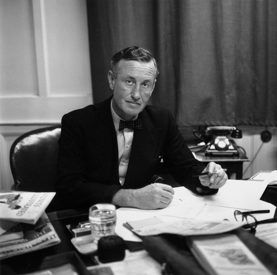 Fleming At Desk Photograph by Express