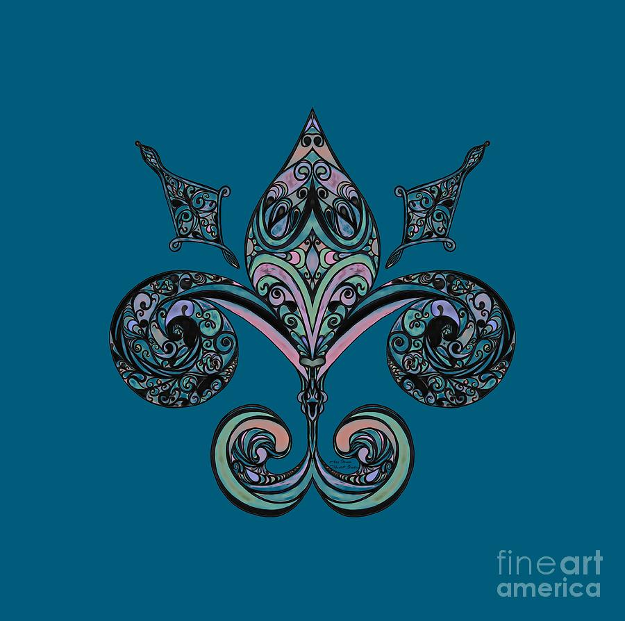Fleur-de-lis by Mastiff Studios