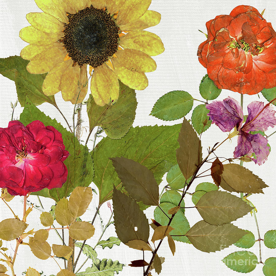 Fleuriste I by Mindy Sommers