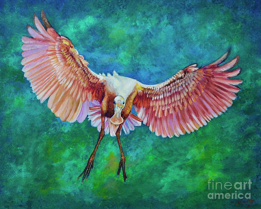Fledgling FLight by AnnaJo Vahle