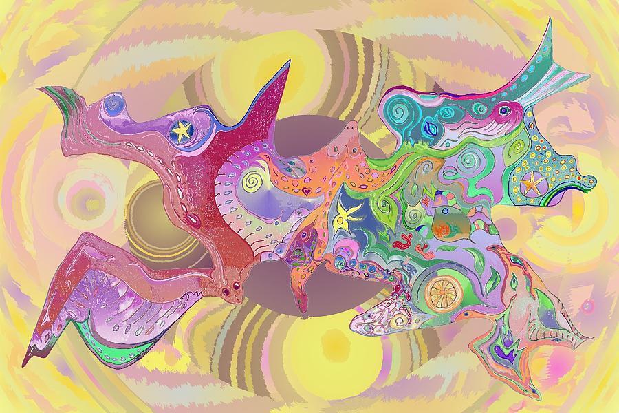 Flight of Evolution v4 by Julia Woodman