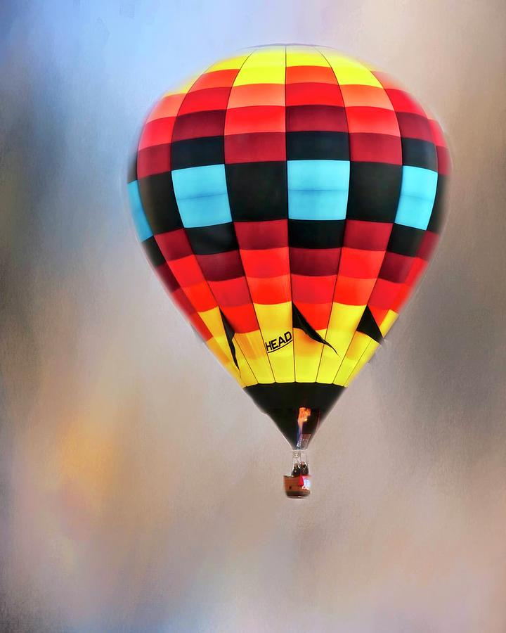 Flight of Fantasy, Hot Air Balloon by Flying Z Photography by Zayne Diamond